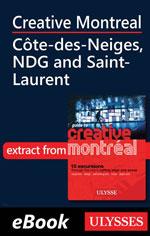 Creative Montreal - Côte-des-Neiges, NDG and Saint-Laurent