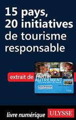 15 pays, 20 initiatives de tourisme responsable