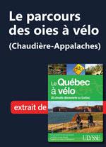 Le parcours des oies à vélo (Chaudière-Appalaches)