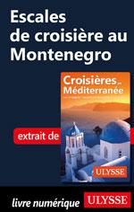Escales de croisière au Montenegro