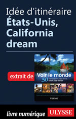 Idée d'itinéraire - États-Unis, California dream