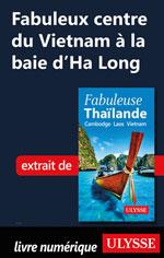 Fabuleux centre du Vietnam à la baie d'Ha Long