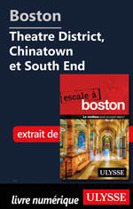 Boston - Theatre District, Chinatown et South End
