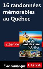 16 randonnées mémorables au Québec