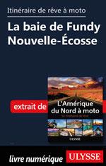 Itinéraire de rêve à moto - La baie de Fundy Nouvelle-Écosse