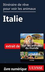 Itinéraire de rêve pour voir les animaux -  Italie