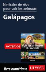 Itinéraire de rêve pour voir les animaux -  Galápagos