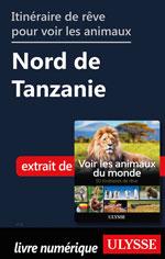 Itinéraire de rêve pour voir les animaux - Nord de Tanzanie