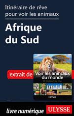 Itinéraire de rêve pour voir les animaux -  Afrique du Sud