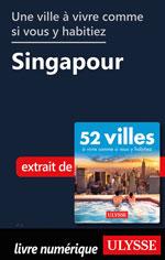 Une ville à vivre comme si vous y habitiez - Singapour