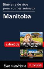 Itinéraire de rêve pour voir les animaux -  Manitoba