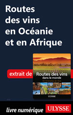 Routes des vins en Océanie et en Afrique