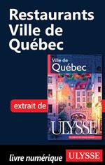 Restaurants - Ville de Québec