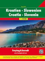 Atlas Croatie, Slovénie - Croatia, Slovenia Atlas