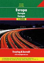 Atlas Routier Europe - Road Atlas Europe