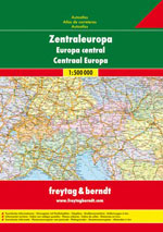 Atlas Europe Centrale - Central Europe Atlas