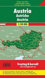 Atlas Autriche - Austria Road Atlas