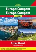 Atlas Compact Europe - Europe Compact Road Atlas