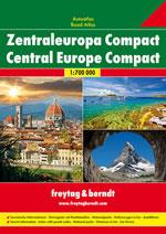 Atlas Compact Europe Centrale - Central Europe Compact Atlas