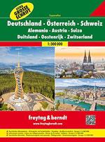 Atlas Allemagne, Autriche, Suisse - Germany, Austria, Switz.