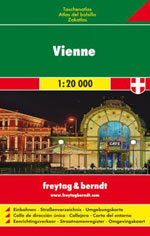 Atlas de Poche Vienne - Pocket-Atlas Vienna