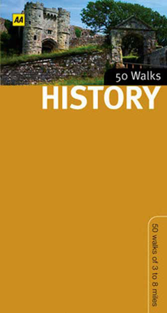 50 History Walks in Britain, 1st Ed.