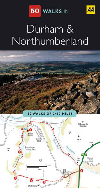 50 Walks Durham & Northumberland, 2nd Ed.
