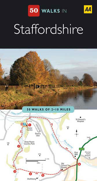 50 Walks Staffordshire, 2nd Ed.
