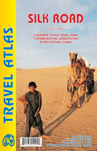 Silk Road Travel Atlas - Atlas Route de la Soie