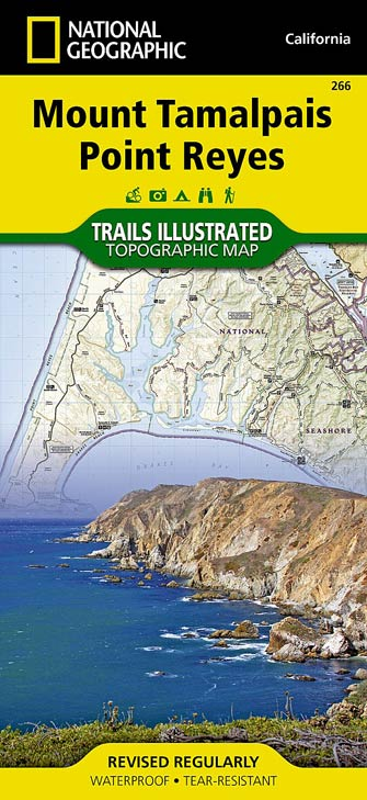 National Geographic #266 Mount Tamalpais, Point Reyes Trail