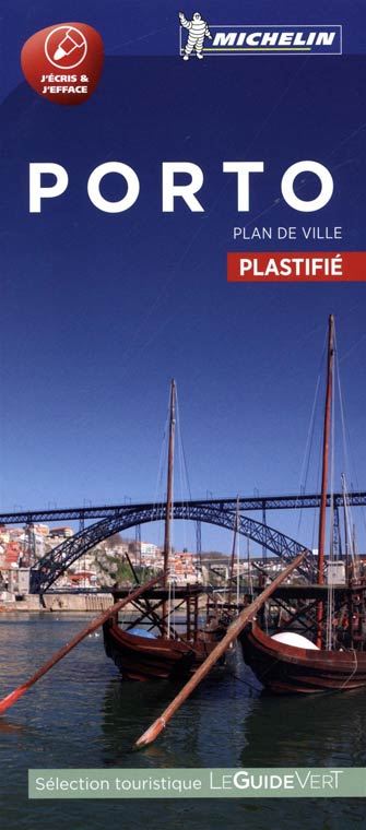 Michelin Plan de Ville Plastifié Porto