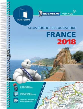 Michelin Atlas France 2018 :petit Format à Spirales
