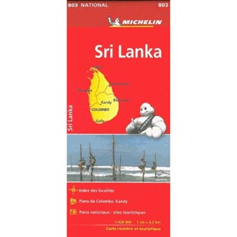 Carte # 803 Sri Lanka