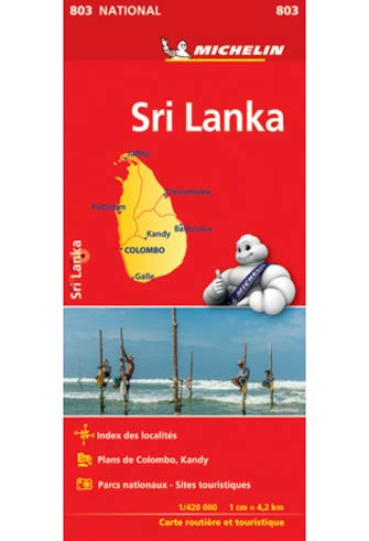 Carte #803 Sri Lanka