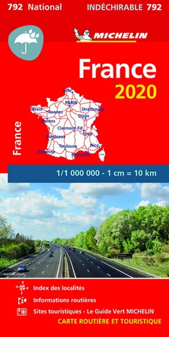 Carte Indéchirable #792 France 2020