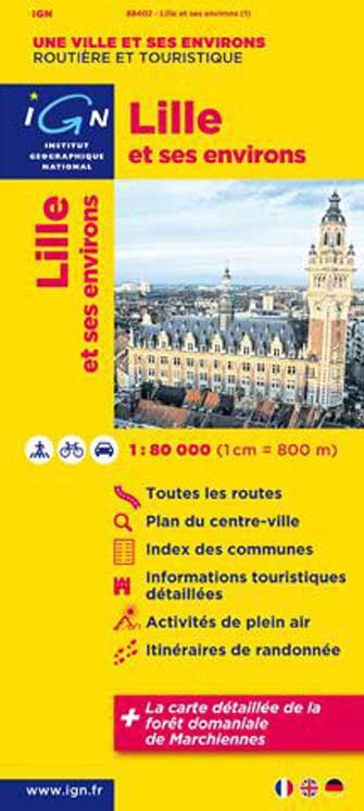 Ign #88402 Lille et Ses Environs