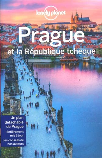Lonely Planet Prague et la République Tchèque