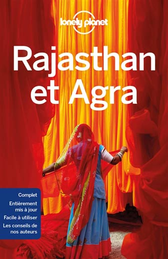 Lonely Planet Rajasthan et Agra