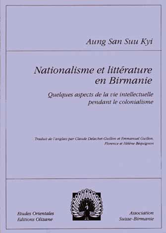 Nationalisme et Littérature en Birmanie