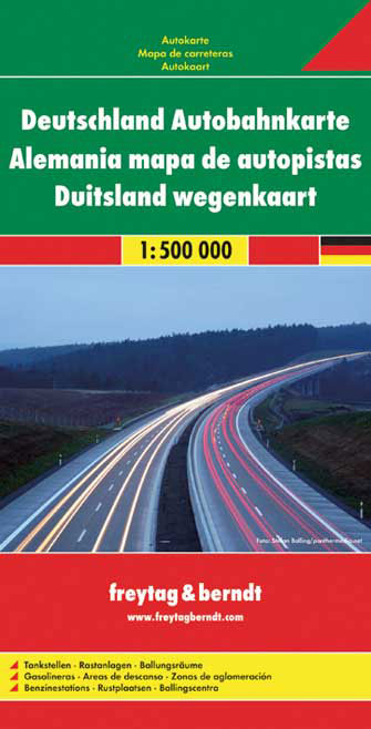 Autoroutes d'Allemagne - Germany Highways