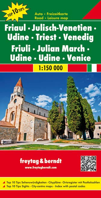 Frioul, Marche Julienne, Udine, Trieste, Venise