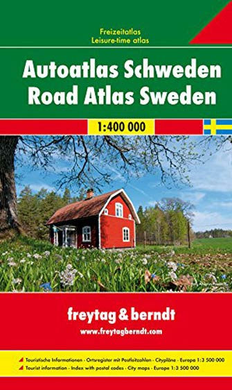 Atlas Routier Suède - Sweden Road Atlas