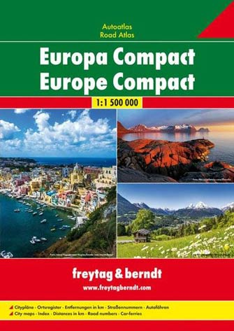 Atlas Compact Europe - Europe Compact Road Atlas