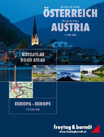 Atlas Autriche + Europe - Road Atlas Austria + Europe