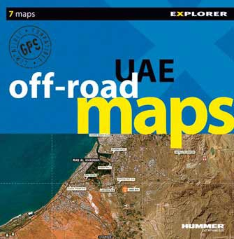 United Arab Emirates (Uae) Off-Road Image Maps, 1st Ed.