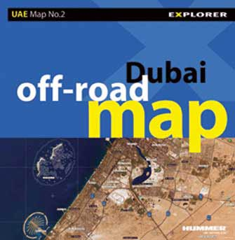 Dubai Off-Road Image Map, 1st Ed.