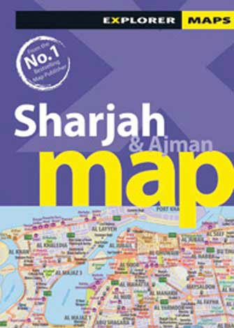 Map Sharjah & Ajman, 1st Ed.