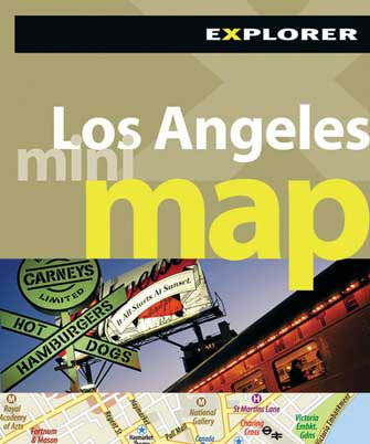 Mini Map Los Angeles, 1st Ed.