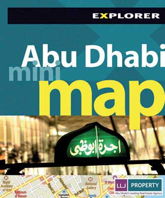 Mini Map Abu Dhabi, 2nd Ed.