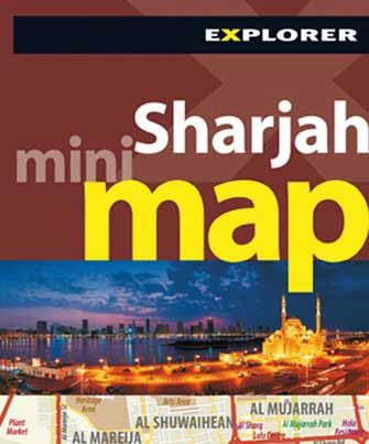 Mini Map Sharjah (Eua), 2nd Ed.